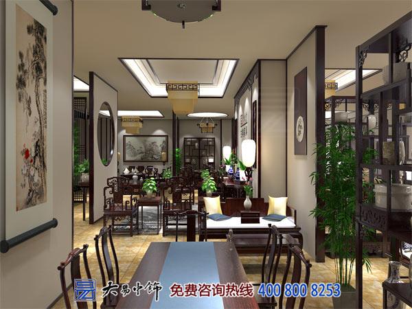 中式展厅装修效果图