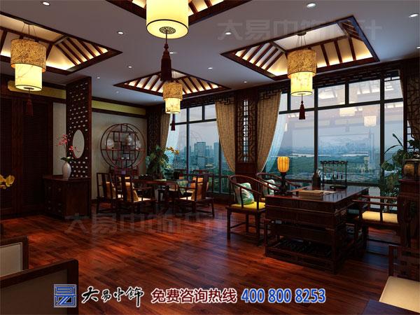 中式国药堂装修设计