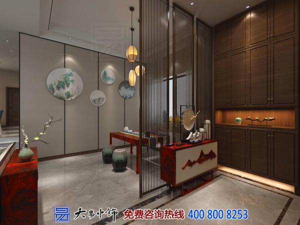 别墅新中式装修设计 彰显古韵风格室内特色