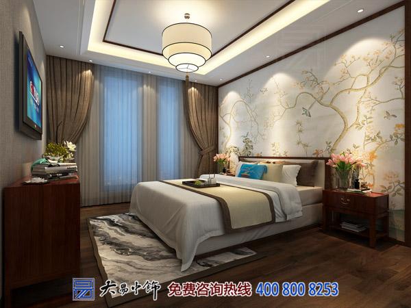 现代中式卧室装修