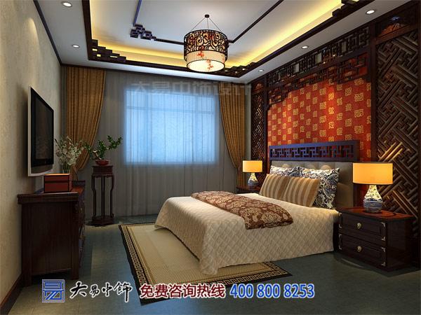 中式卧室设计别墅装修