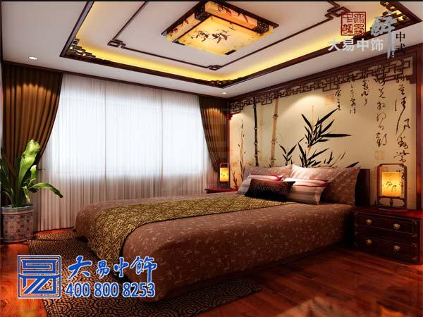 臥室中式裝修