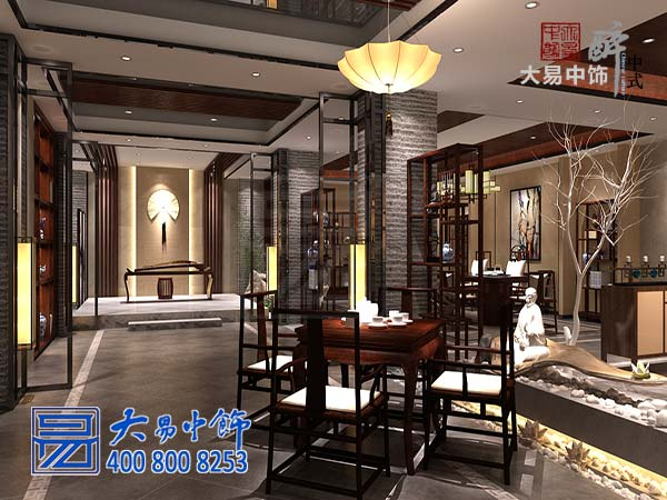 茶厅装修实景图