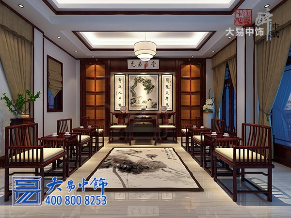 禅意中式别墅装修