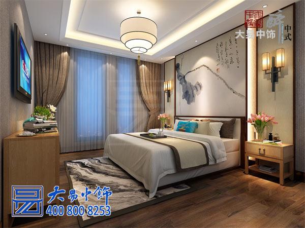 禅意中式卧室装修设计
