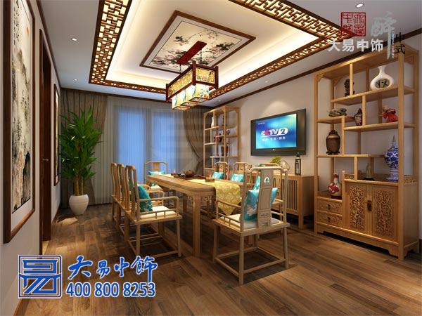 禅意中式茶室设计