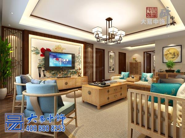 禅意中式客厅装修