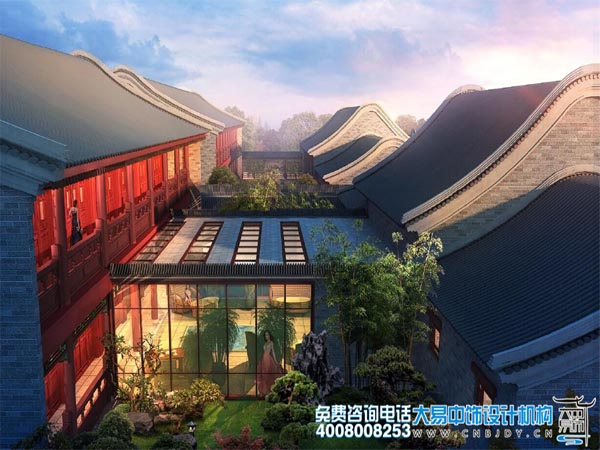 园林景观中式设计