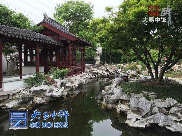 中式园林设计效果图