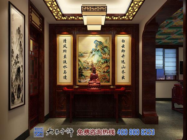 古典四合院装修设计 传统中式风格京派尽显帝王气