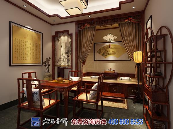中式卧室茶室设计