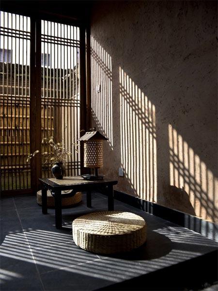 石头古街民宿设计中式装修效果图欣赏