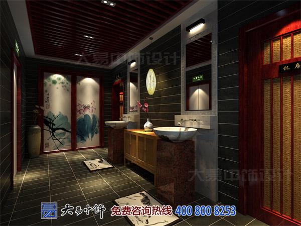 洗手间中式装饰