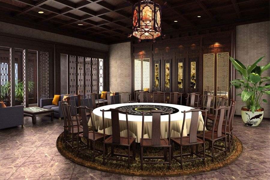 中式餐饮设计会所装修