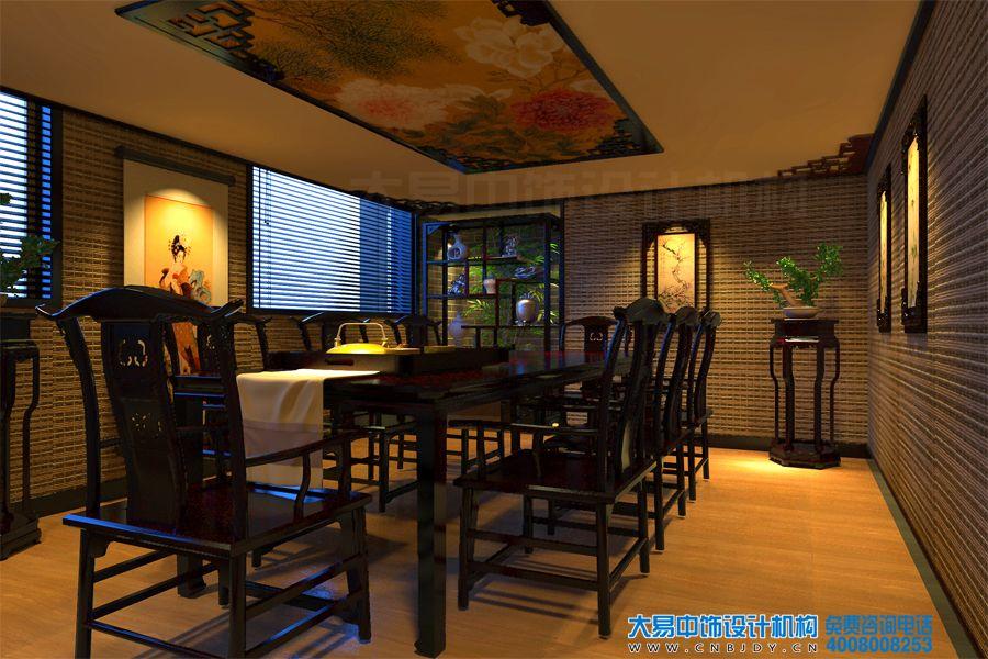 中式茶楼装修效果图