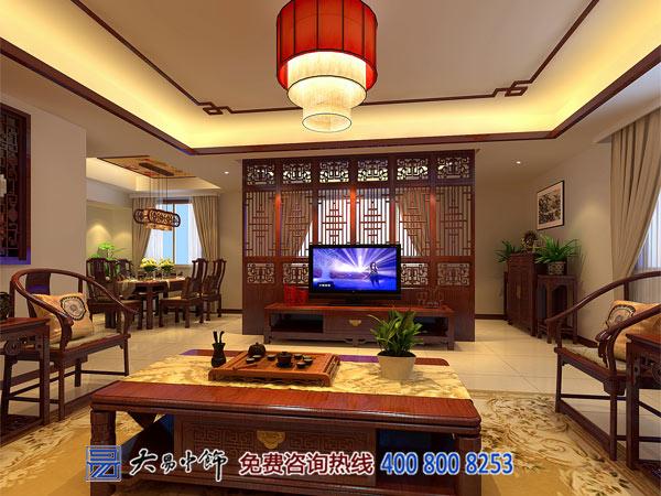 中式家装跃层装修设计 给生活跳跃的美感与享受