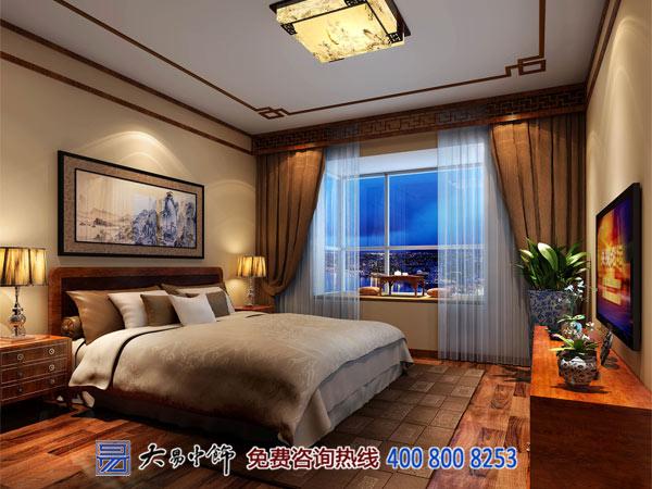 中式卧室设计住宅装修