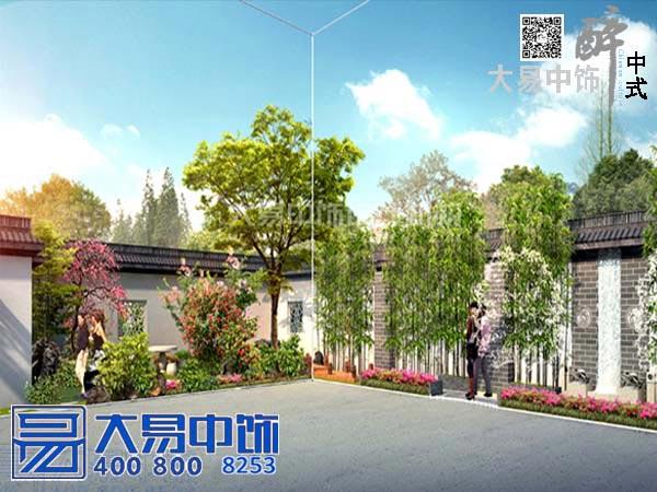 中式园林装修设计图