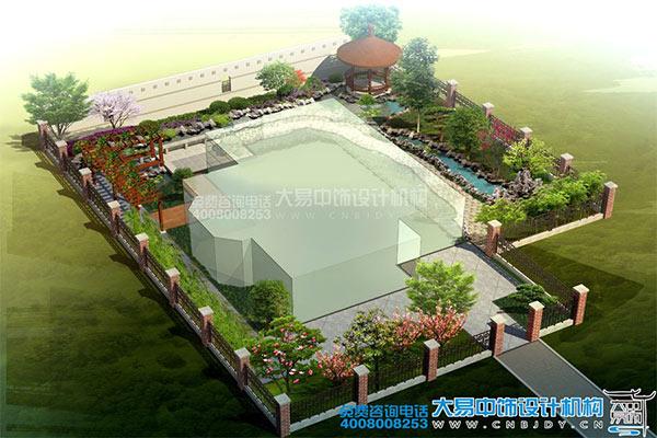 中式园林装修效果图