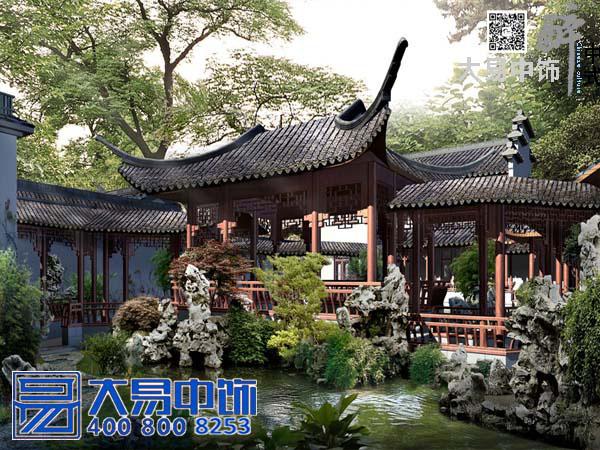 园林中式设计