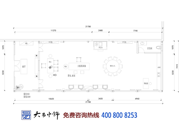 中式书院设计平面图