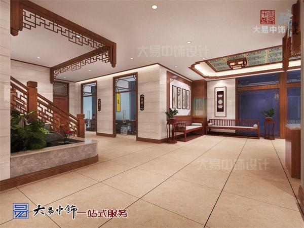 国医馆知药堂大厅设计