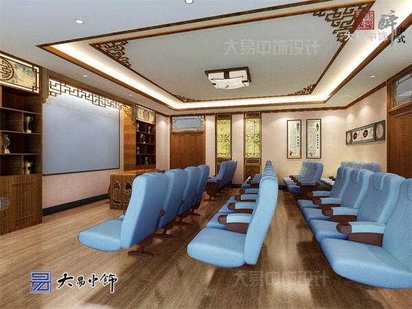 国医馆会客厅装修设计