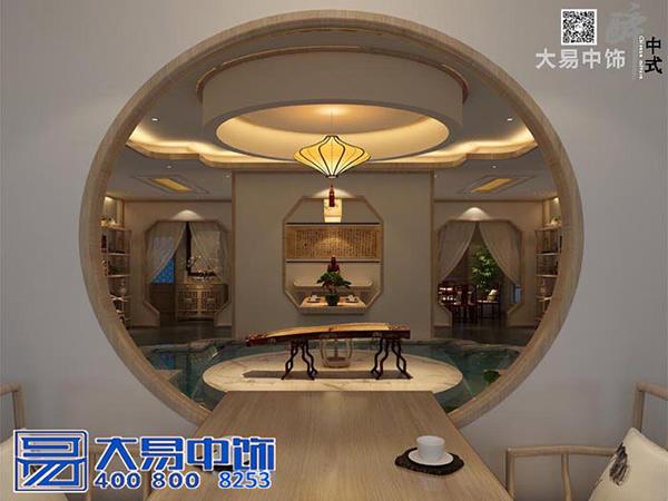 古琴馆中式装饰设计