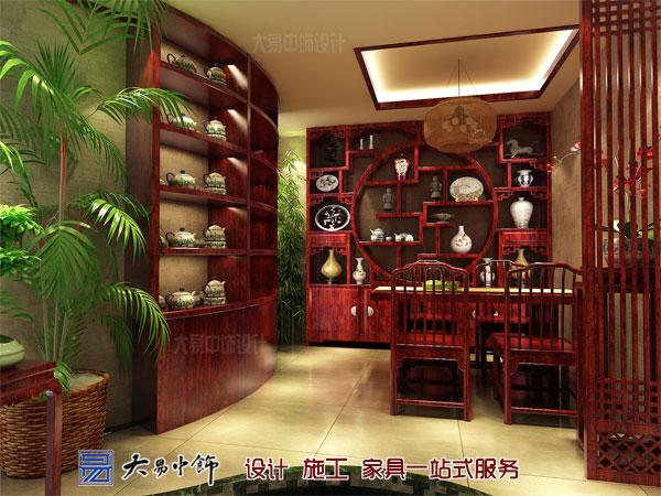 茶楼茶室装修效果图