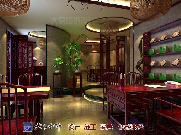 茶楼大厅设计