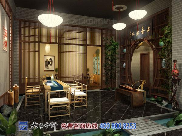 茶馆中式设计