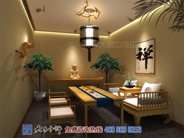 茶楼茶室中式设计