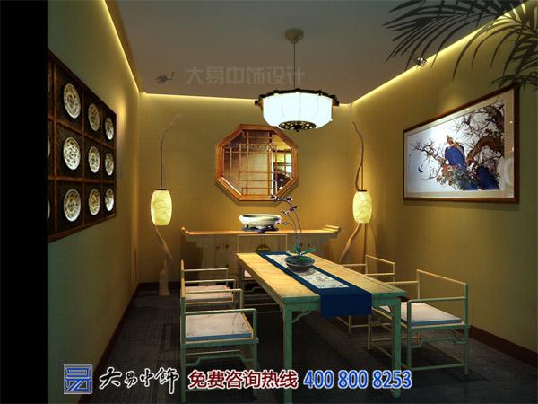 茶楼茶室中式装修