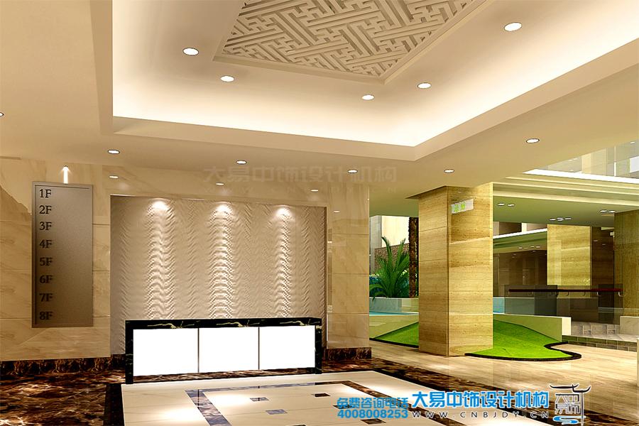 新中式酒店装饰