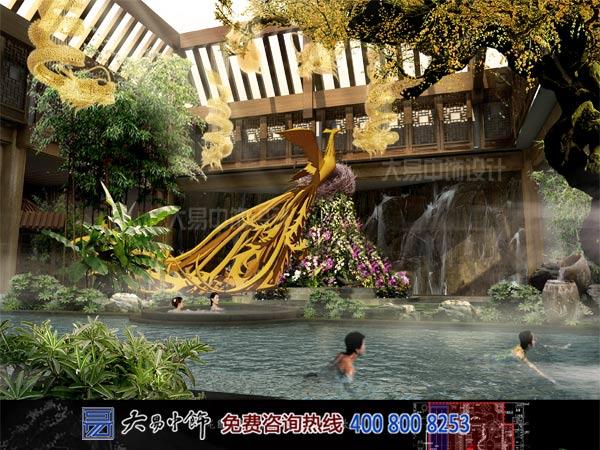 中式溫泉裝修設計