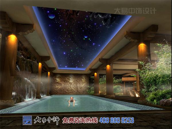 浴區室內中式裝修