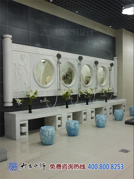 淋浴中式風格設計