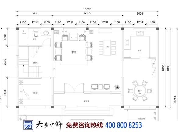 四合院设计平面图