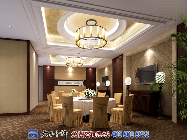 餐厅中式客厅设计装修效果图