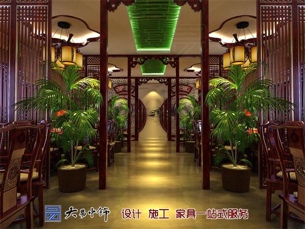 餐厅中式过道装修