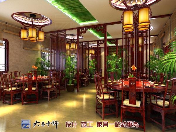 中式大厅设计效果图