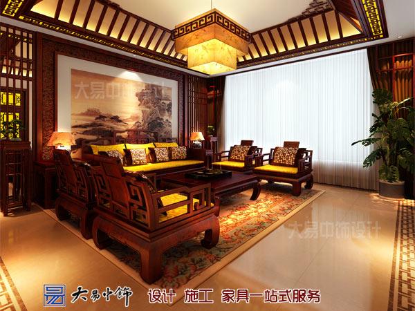 傳統中式客廳設計