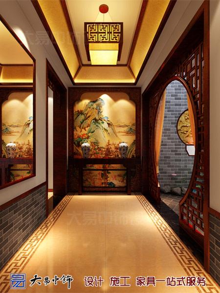 餐飲客廳中式設計