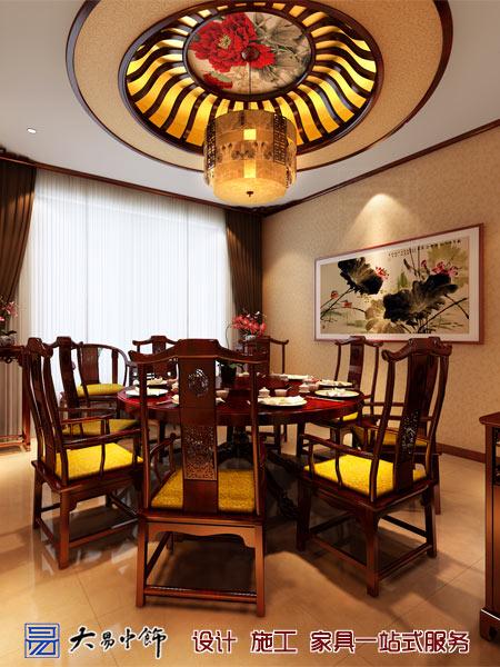餐飲中式茶室裝修效果圖