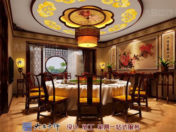 中式大餐廳設計效果圖
