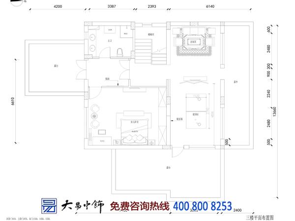 别墅中式装修平面图