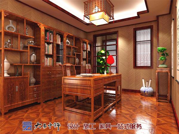 楼上书房中式装修