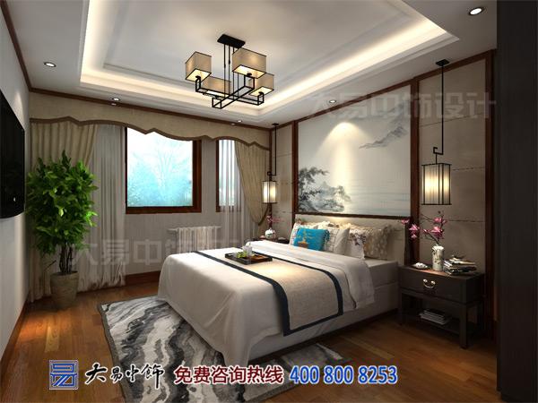 新中式别墅卧室设计