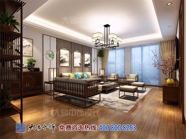 新中式别墅客厅设计