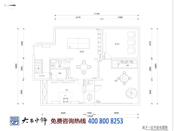 新中式别墅设计平面图